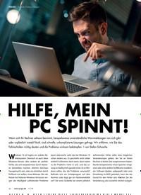 Titelbild der Ausgabe 11/2019 von HILFE, MEIN PC SPINNT!. Zeitschriften als Abo oder epaper bei United Kiosk online kaufen.