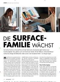 Titelbild der Ausgabe 12/2019 von REPORT: Microsofts neue Surface-Geräte: DIE SURFACEFAMILIE WÄCHST. Zeitschriften als Abo oder epaper bei United Kiosk online kaufen.
