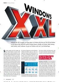 Titelbild der Ausgabe 12/2019 von WINDOWS XXL. Zeitschriften als Abo oder epaper bei United Kiosk online kaufen.
