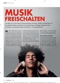 Titelbild der Ausgabe 12/2019 von Musik freischalten: MUSIK FREISCHALTEN. Zeitschriften als Abo oder epaper bei United Kiosk online kaufen.