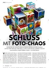Titelbild der Ausgabe 12/2019 von Bilder organisieren: SCHLUSS MIT FOTO-CHAOS. Zeitschriften als Abo oder epaper bei United Kiosk online kaufen.