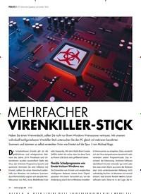 Titelbild der Ausgabe 3/2020 von 20 Antiviren-Systeme auf einem Stick: MEHRFACHER VIRENKILLER-STICK. Zeitschriften als Abo oder epaper bei United Kiosk online kaufen.
