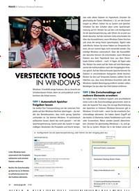 Titelbild der Ausgabe 3/2020 von Geheime Windows-Funktionen: VERSTECKTE TOOLS IN WINDOWS. Zeitschriften als Abo oder epaper bei United Kiosk online kaufen.