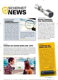 Titelbild der Ausgabe 4/2020 von sicherheit News. Zeitschriften als Abo oder epaper bei United Kiosk online kaufen.