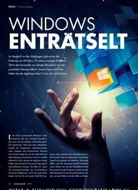 Titelbild der Ausgabe 4/2020 von praxis Windows tiptop: Windows EntrAtselt. Zeitschriften als Abo oder epaper bei United Kiosk online kaufen.