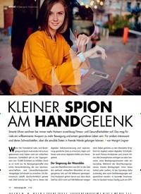 Titelbild der Ausgabe 5/2020 von Datenspion Smartwatch: KLEINER SPION AM HANDGELENK. Zeitschriften als Abo oder epaper bei United Kiosk online kaufen.