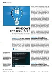 Titelbild der Ausgabe 5/2020 von WINDOWS TIPPS UND TRICKS. Zeitschriften als Abo oder epaper bei United Kiosk online kaufen.