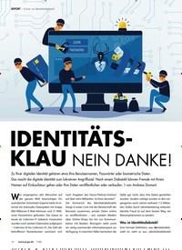 Titelbild der Ausgabe 7/2020 von REPORT: Schutz vor Identitätsdiebstahl: IDENTITÄTSKLAU NEIN DANKE!. Zeitschriften als Abo oder epaper bei United Kiosk online kaufen.