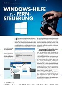 Titelbild der Ausgabe 7/2020 von PC-Fernwartung mit dem TeamViewer: WINDOWS-HILFE PER FERNSTEUERUNG. Zeitschriften als Abo oder epaper bei United Kiosk online kaufen.