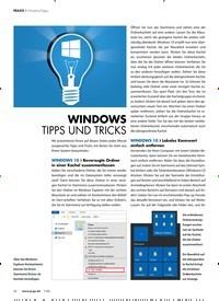 Titelbild der Ausgabe 7/2020 von WINDOWS TIPPS UND TRICKS. Zeitschriften als Abo oder epaper bei United Kiosk online kaufen.