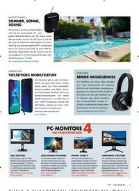 Titelbild der Ausgabe 8/2020 von PC-MONITORE 4 DIE FANTASTISCHEN. Zeitschriften als Abo oder epaper bei United Kiosk online kaufen.