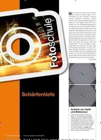 Titelbild der Ausgabe 1/2019 von Fotoschule: Schärfentiefe. Zeitschriften als Abo oder epaper bei United Kiosk online kaufen.