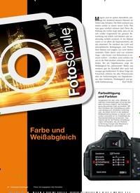 Titelbild der Ausgabe 1/2019 von Fotoschule: Farbe und Weißabgleich. Zeitschriften als Abo oder epaper bei United Kiosk online kaufen.