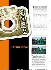 Titelbild der Ausgabe 1/2019 von Fotoschule: Perspektive. Zeitschriften als Abo oder epaper bei United Kiosk online kaufen.
