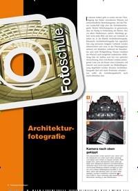 Titelbild der Ausgabe 2/2019 von Fotoschule: Architekturfotografie. Zeitschriften als Abo oder epaper bei United Kiosk online kaufen.