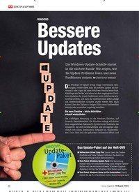 Titelbild der Ausgabe 7/2018 von WINDOWS: Bessere Updates. Zeitschriften als Abo oder epaper bei United Kiosk online kaufen.