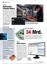 Titelbild der Ausgabe 5/2019 von ZAHL DES MONATS: 34 Mrd.. Zeitschriften als Abo oder epaper bei United Kiosk online kaufen.
