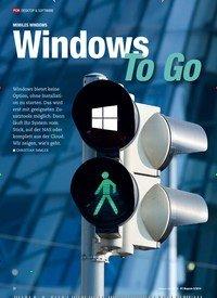 Titelbild der Ausgabe 5/2019 von MOBILES WINDOWS: Windows Mobiles Windows To Go. Zeitschriften als Abo oder epaper bei United Kiosk online kaufen.