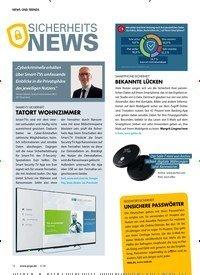 Titelbild der Ausgabe 5/2018 von SICHERHEITS NEWS. Zeitschriften als Abo oder epaper bei United Kiosk online kaufen.