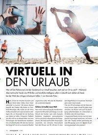 Titelbild der Ausgabe 5/2018 von REPORT > Neue Technologien für die Reisebranche: VIRTUELL IN DEN URLAUB. Zeitschriften als Abo oder epaper bei United Kiosk online kaufen.