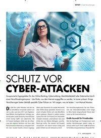 Titelbild der Ausgabe 6/2018 von REPORT › Cyber-Versicherungen: SCHUTZ VOR CYBER-ATTACKEN. Zeitschriften als Abo oder epaper bei United Kiosk online kaufen.