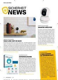 Titelbild der Ausgabe 11/2018 von NEWS UND TRENDS: SICHERHEIT NEWS. Zeitschriften als Abo oder epaper bei United Kiosk online kaufen.