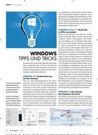 Titelbild der Ausgabe 11/2018 von WINDOWS TIPPS UND TRICKS. Zeitschriften als Abo oder epaper bei United Kiosk online kaufen.