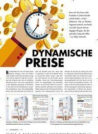 Titelbild der Ausgabe 1/2019 von DYNAMISCHE PREISE. Zeitschriften als Abo oder epaper bei United Kiosk online kaufen.