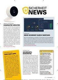 Titelbild der Ausgabe 4/2019 von SICHERHEIT: NEWS. Zeitschriften als Abo oder epaper bei United Kiosk online kaufen.