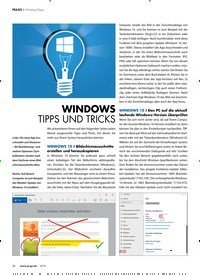 Titelbild der Ausgabe 4/2019 von WINDOWS TIPPS UND TRICKS. Zeitschriften als Abo oder epaper bei United Kiosk online kaufen.