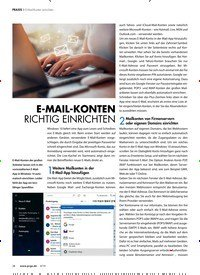 Titelbild der Ausgabe 4/2019 von E-Mail-Konten einrichten : E-MAIL-KONTEN RICHTIG EINRICHTEN. Zeitschriften als Abo oder epaper bei United Kiosk online kaufen.