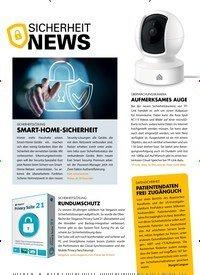 Titelbild der Ausgabe 11/2019 von SICHERHEIT NEWS. Zeitschriften als Abo oder epaper bei United Kiosk online kaufen.