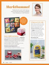 Titelbild der Ausgabe 10/2019 von Marktbummel. Zeitschriften als Abo oder epaper bei United Kiosk online kaufen.