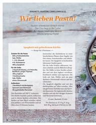 Titelbild der Ausgabe 10/2019 von SPAGHETTI, RIGATONI, CANELLONNI & CO.: Wir lieben Pasta!. Zeitschriften als Abo oder epaper bei United Kiosk online kaufen.