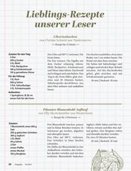 Titelbild der Ausgabe 10/2019 von Lieblings-Rezepte unserer Leser. Zeitschriften als Abo oder epaper bei United Kiosk online kaufen.