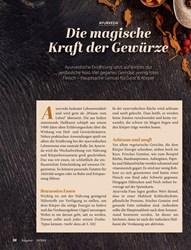 Titelbild der Ausgabe 10/2019 von AYURVEDA: Die magische Kraft der Gewürze. Zeitschriften als Abo oder epaper bei United Kiosk online kaufen.