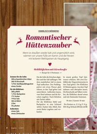 Titelbild der Ausgabe 11/2019 von HIMMLISCH WÄRMEND: Romantischer Hüttenzauber. Zeitschriften als Abo oder epaper bei United Kiosk online kaufen.