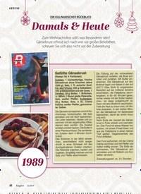 Titelbild der Ausgabe 12/2019 von EIN KULINARISCHER RÜCKBLICK: Damals & Heute. Zeitschriften als Abo oder epaper bei United Kiosk online kaufen.