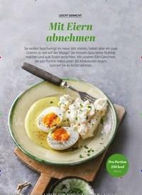 Titelbild der Ausgabe 1/2020 von LEICHT GEMACHT: Mit Eiern Abnehmen. Zeitschriften als Abo oder epaper bei United Kiosk online kaufen.