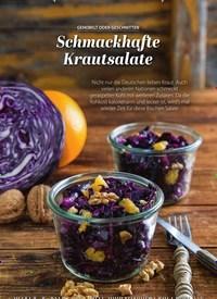 Titelbild der Ausgabe 1/2020 von GEHOBELT ODER GESCHNITTEN: Schmackhafte Krautsalate. Zeitschriften als Abo oder epaper bei United Kiosk online kaufen.