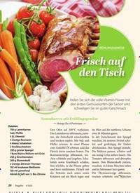 Titelbild der Ausgabe 4/2020 von FRÜHLINGSGEMÜSE: Frisch auf den Tisch. Zeitschriften als Abo oder epaper bei United Kiosk online kaufen.