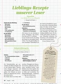 Titelbild der Ausgabe 5/2020 von Lieblings-Rezepte unserer Leser. Zeitschriften als Abo oder epaper bei United Kiosk online kaufen.