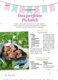 Titelbild der Ausgabe 6/2020 von AUSFLUG INS GRÜNE: Das perfekte Picknick. Zeitschriften als Abo oder epaper bei United Kiosk online kaufen.