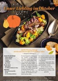 Titelbild der Ausgabe 10/2020 von Unser Liebling im Oktober. Zeitschriften als Abo oder epaper bei United Kiosk online kaufen.