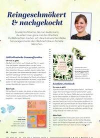 Titelbild der Ausgabe 11/2020 von Reingeschmökert & nachgekocht. Zeitschriften als Abo oder epaper bei United Kiosk online kaufen.