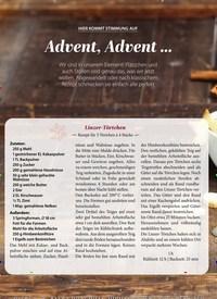Titelbild der Ausgabe 11/2020 von HIER KOMMT STIMMUNG AUF:Advent, Advent …. Zeitschriften als Abo oder epaper bei United Kiosk online kaufen.