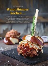 Titelbild der Ausgabe 2/2021 von GENUSS: NUR FÜR ECHTE KERLE: Wenn Männer kochen …. Zeitschriften als Abo oder epaper bei United Kiosk online kaufen.