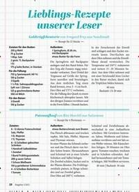 Titelbild der Ausgabe 2/2021 von GENUSS: Lieblings-Rezepte unserer Leser. Zeitschriften als Abo oder epaper bei United Kiosk online kaufen.