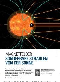 Titelbild der Ausgabe 3/2019 von MAGNETFELDER: SONDERBARE STRAHLEN VON DER SONNE. Zeitschriften als Abo oder epaper bei United Kiosk online kaufen.