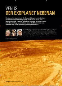 Titelbild der Ausgabe 3/2019 von VENUS: DER EXOPLANET NEBENAN. Zeitschriften als Abo oder epaper bei United Kiosk online kaufen.